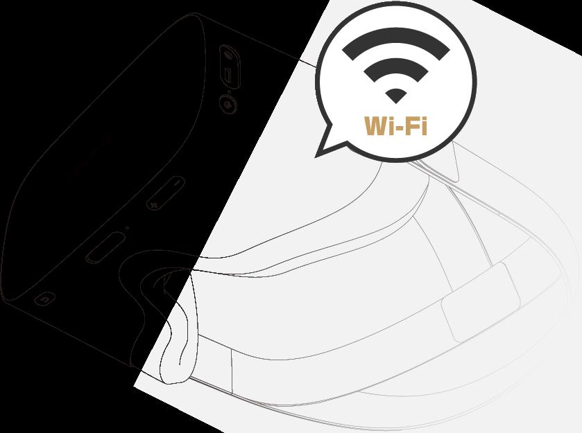 DPVR-4D を店舗に持ち込んでWi-Fiに接続するだけで視聴可能です!